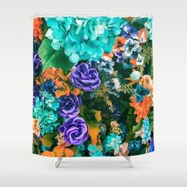 Multicolor Floral Shower Curtain