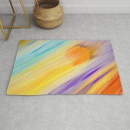 """Catch the Sun #1 – Sequel #2"" Oil Painting Rug"