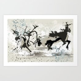 STRIKING FORCE Art Print