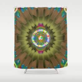 Jewels One Shower Curtain