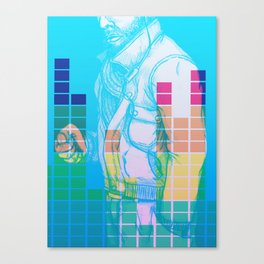 Pump up the jam Canvas Print