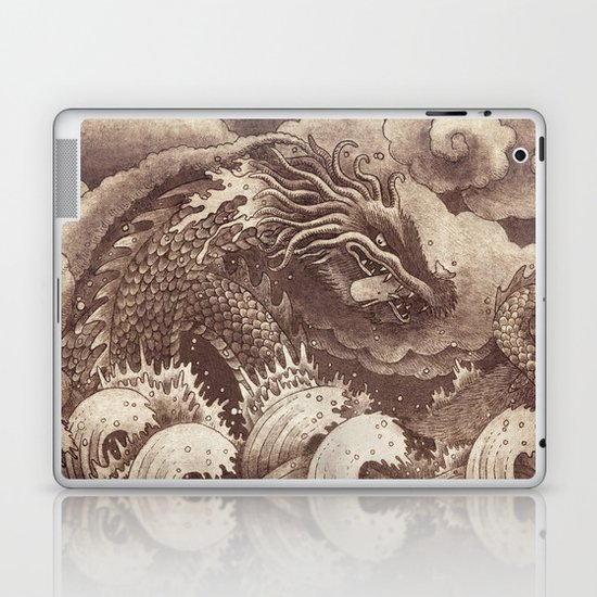 Edge of the World  Laptop & iPad Skin