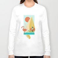 florida Long Sleeve T-shirts featuring Florida by Tank Top Sunday