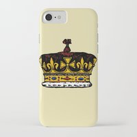 crown iPhone & iPod Cases featuring Crown by Michael Keene