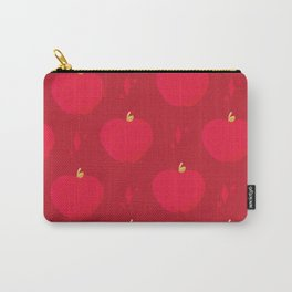 Apples in Red Carry-All Pouch