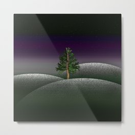 Another Lonely Tree Metal Print