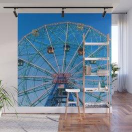 Wonder Wheel Wall Mural