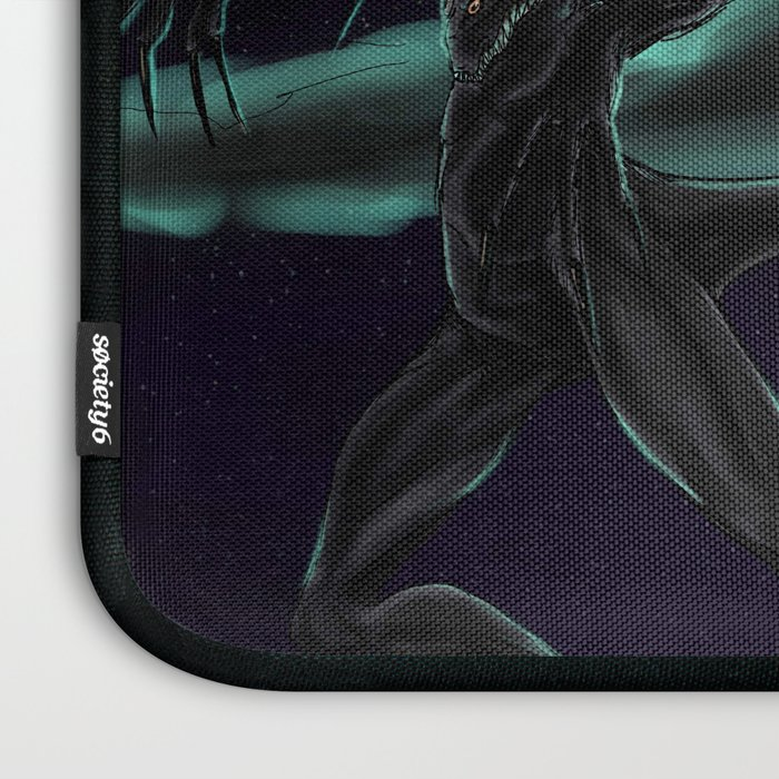 bcd5f508f5 The Nightgaunt Laptop Sleeve by blackpawsart