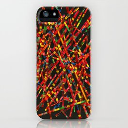 My Favorite Fall Color Is Plaid iPhone Case