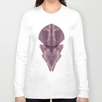 glass Long Sleeve T-shirts featuring Glass by La Señora