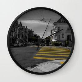 Street of San Francisco Wall Clock