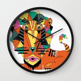 Bauhaus Lion Wall Clock