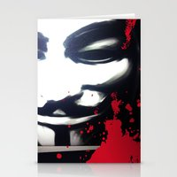 vendetta Stationery Cards featuring VENDETTA for IPhone by Vertigo