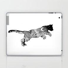 Jungle Panther, Cat, Moon and Stars Laptop & iPad Skin