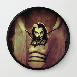 Lily Uncensored Wall Clock