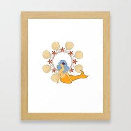 Little Siren Sister 3 Framed Art Print