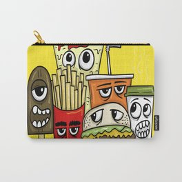 Fast Food Character Carry-All Pouch