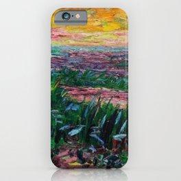 Coastal Landscape at Sunrise by Emil Nolde iPhone Case