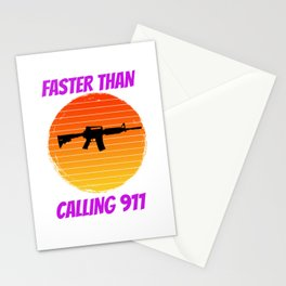 gun for people who like guns and ammo  Stationery Cards