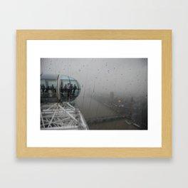 London Rain Framed Art Print