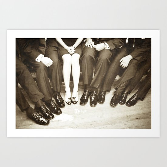 The Groomswoman Art Print