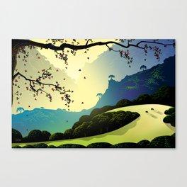 Alum Rock Canyon Canvas Print