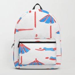sunbathing pattern Backpack