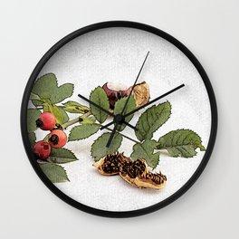 autumn feelings Wall Clock