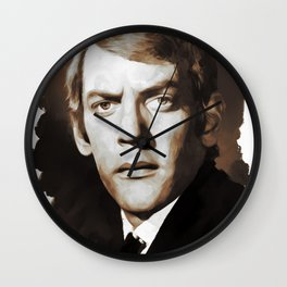 Donald Sutherland, Actor Wall Clock