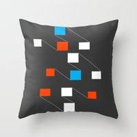 building Throw Pillows featuring building by Matt Edward