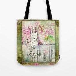 Westie Love ~ West Highland Terrier Tote Bag