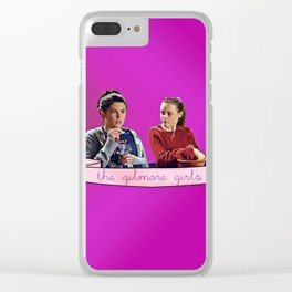 The Gilmore Girls Clear iPhone Case