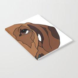 Mabel the mini Dachshund Notebook