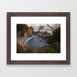 McWay Falls, Big Sur Framed Art Print