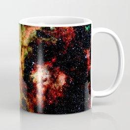 Tarantual Nebula Red Yellow Green Coffee Mug