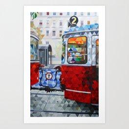 La Estacion, The Station Art Print