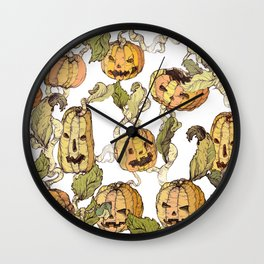 this is Halloween Wall Clock