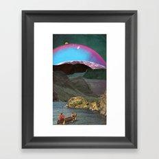 Canoes Framed Art Print