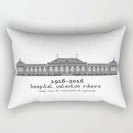 HexArchi - Portugal, Esposende, Hospital Valentim Ribeiro Rectangular Pillow