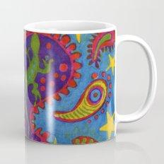 Lizard Paisley Batik Mug