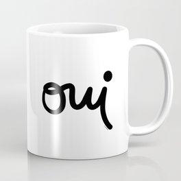 Oui Coffee Mug