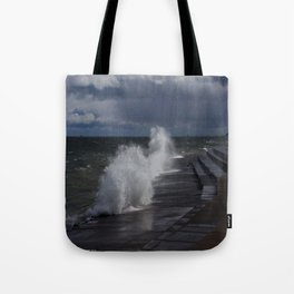 A Gale to Blow Out the Year (Chicago Waves Collection) Tote Bag