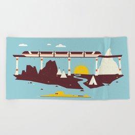 Magical Minimalism Beach Towel