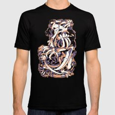 MISSINGNO Black MEDIUM Mens Fitted Tee