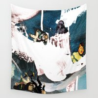 once upon a  time Wall Tapestries featuring Once upon a time... by Design4u Studio