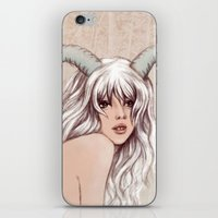 aries iPhone & iPod Skins featuring Aries by Vivian Lau