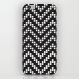 Herringbone Weave Seamless Pattern. iPhone Skin