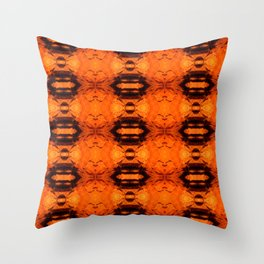 FACES IN THE ROCKS Throw Pillow