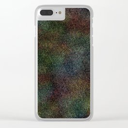 Abstract XX Clear iPhone Case