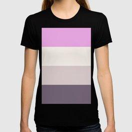 Simplicism - Minimalism - Lavender T-shirt